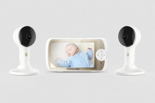 Motorola Lux65 Connect-2 video baby monitor review: This two-camera set offers monitoring and more