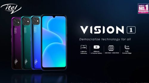 Itel Vision 1 First impressions: Waterdrop notch, big battery at a budget