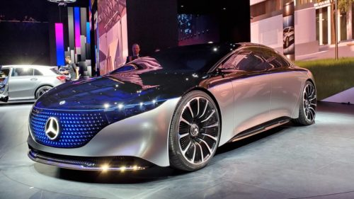 Mercedes-AMG EQS could give Tesla and Porsche EVs a speed challenger