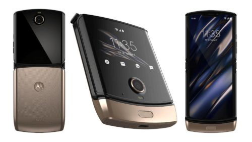 Motorola Razr now comes in Blush Gold, still costs like gold