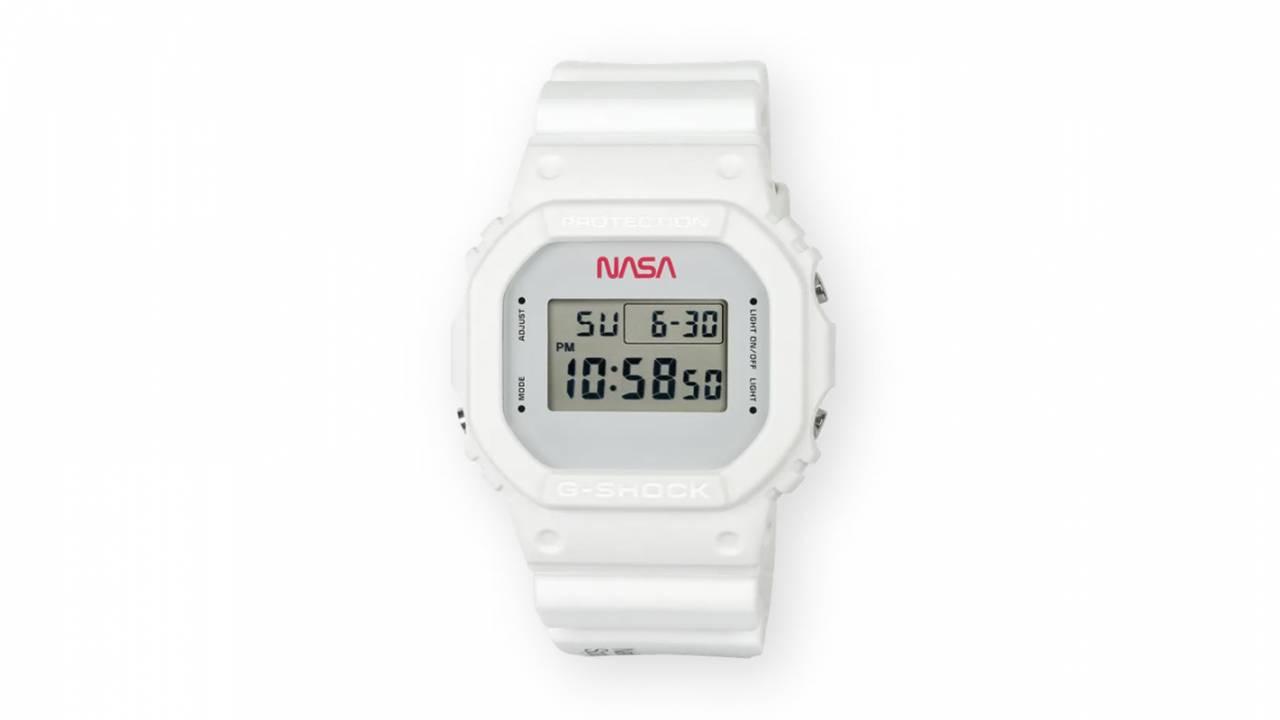 Casio G-Shock limited edition watch sports retro NASA design