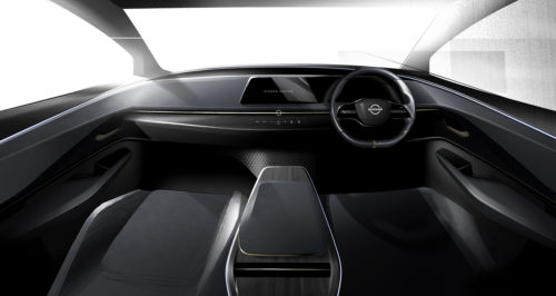 Nissan bucks the giant dash screen trend in favor of a simpler cockpit