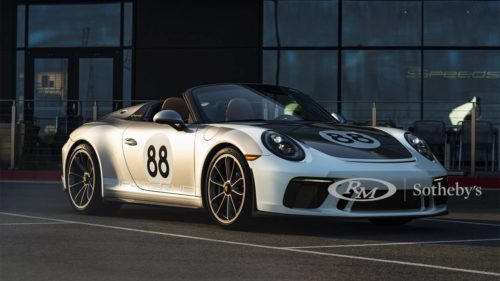 RM Sotheby's Porsche 911 Speedster auction to benefit COVID-19 fund