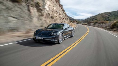 2020 Porsche Taycan 4S EPA range estimate is 203 miles per charge