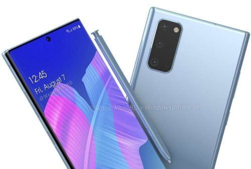 Samsung Galaxy Note 20 might sport a similar design to the Huawei P40 Pro