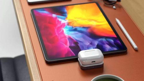 Satechi USB-C wireless charger is specially made for AirPods