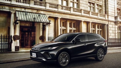 New Toyota Harrier lands in Japan in June