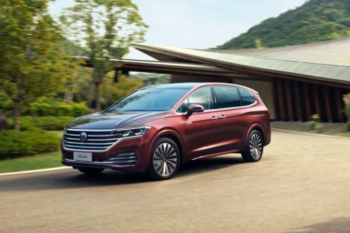 Flagship Volkswagen Viloran makes debut in China