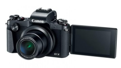 Canon PowerShot G1 X Mark III With User Manual
