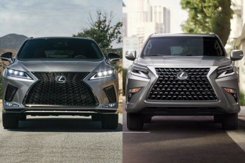 2020 Lexus RX vs. 2020 Lexus GX: What's the Difference?