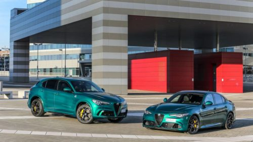 Alfa Romeo celebrates 110th birthday with updated versions of the Giulia and Stelvio