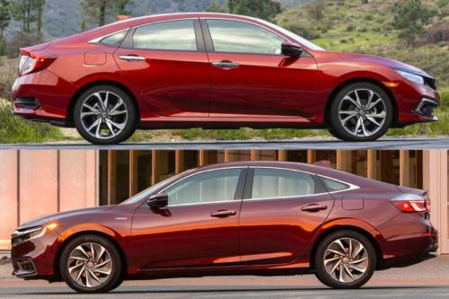 2020 Honda Civic vs. 2020 Honda Insight: Whats the Difference?