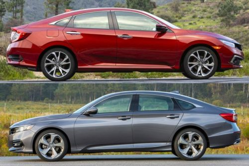 2020 Honda Civic vs. 2020 Honda Accord: What's the Difference?