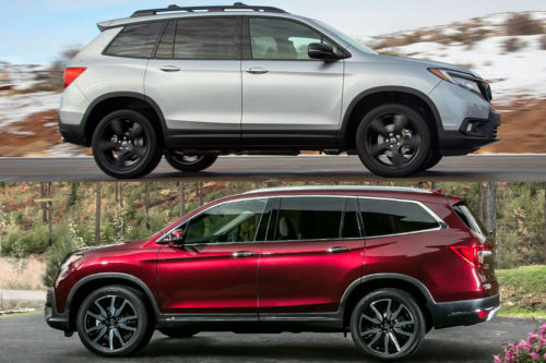 2020 Honda Passport vs. 2020 Honda Pilot: What's the Difference?