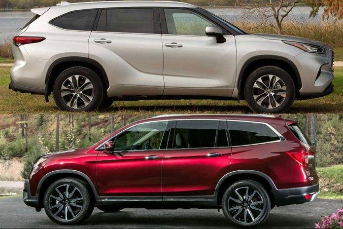 2020 Toyota Highlander vs. 2020 Honda Pilot: Which Is Better?