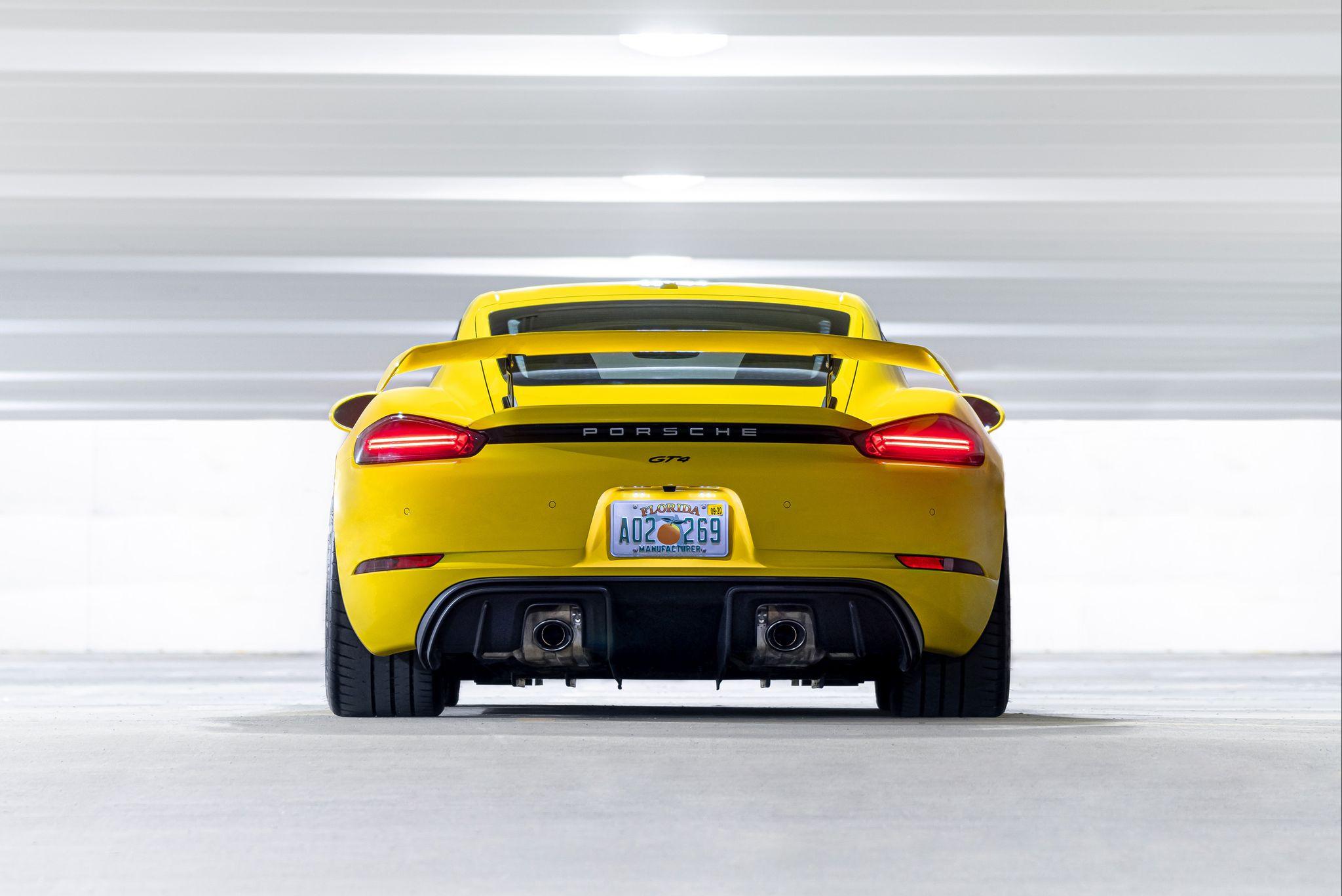Tested: 2020 Porsche 718 Cayman GT4
