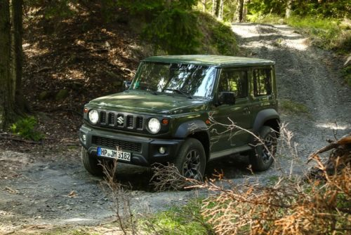 2020 Suzuki Jimny Is an Adorable and Tiny Off-Road Box that We Can't Buy