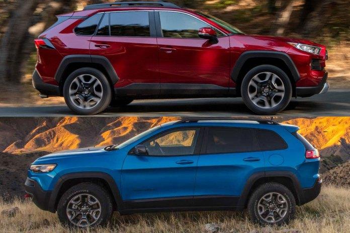 2020 Toyota RAV4 vs. 2020 Jeep Cherokee: Which Is Better?