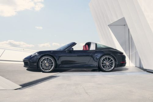 2021 Porsche 911 Gets Classic Targa 4 and 4S Treatment