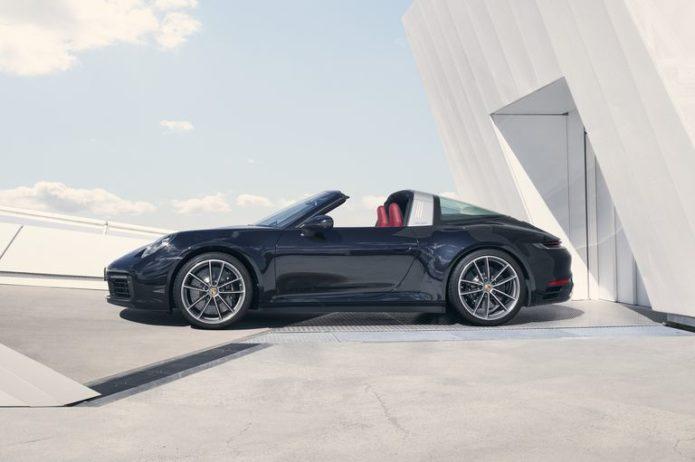 2021 Porsche 911 Gets Classic Targa 4 and 4S Treatment