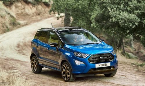 2021 Ford EcoSport Active Leaked Images Show The Mildly Rugged SUV