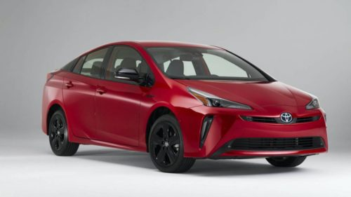 Toyota Prius 2020 Edition gives hybrid a 20th birthday blackout