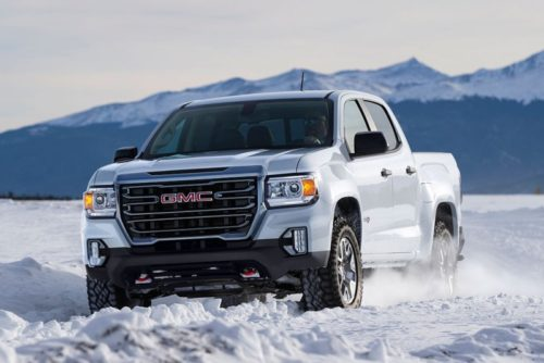 2021 GMC Canyon AT4 Gets More Capable Off-Road Performance Edition