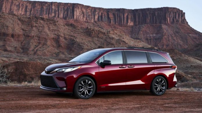 2021 Toyota Sienna revealed: A hybrid minivan you'll actually want