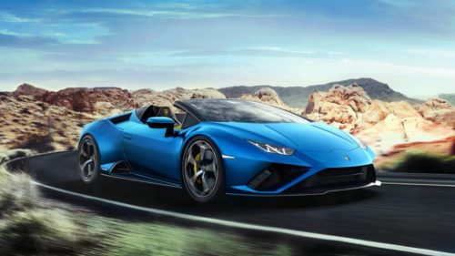 Lamborghini Huracán EVO RWD Spyder dances and sings for the keenest drivers