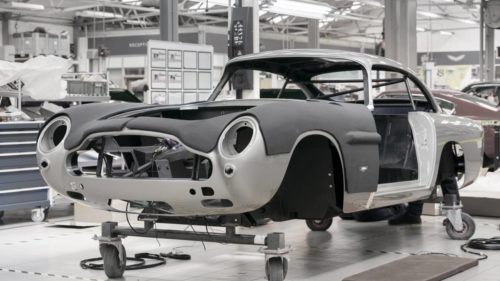 Aston Martin restarts production of Goldfinger DB5