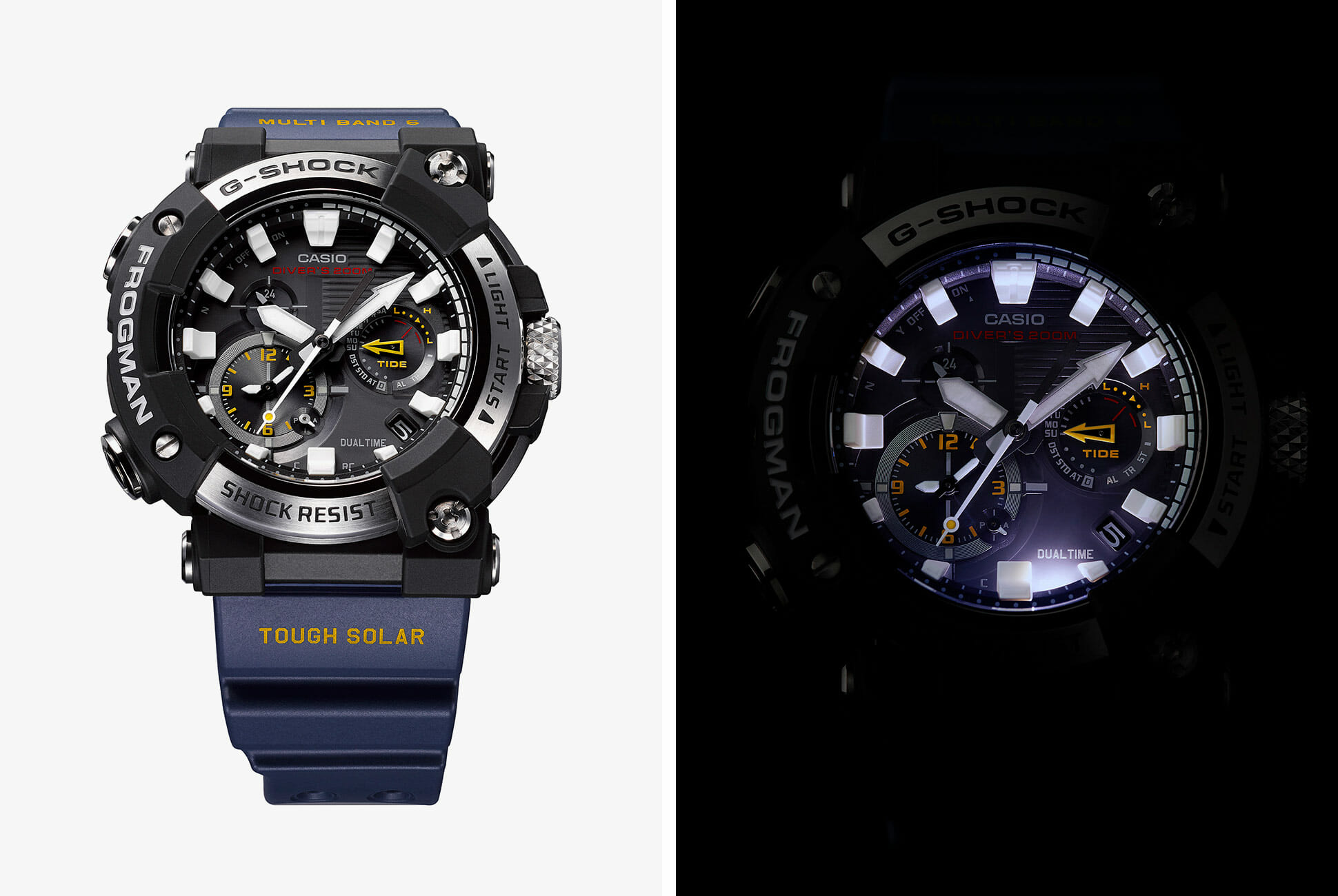 G-Shock's Professional Dive Watch Gets Updated Tech and an Analog Dial