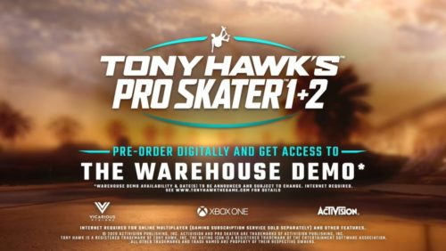 Tony Hawk's Pro Skater 1+2 Remastered is coming this September