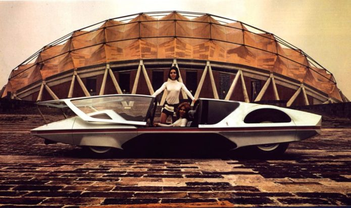 The 1970 Ferrari 512 S Modulo was way ahead of its time