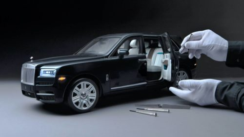 Rolls-Royce made a 1:8 scale Cullinan SUV that costs more than a real car