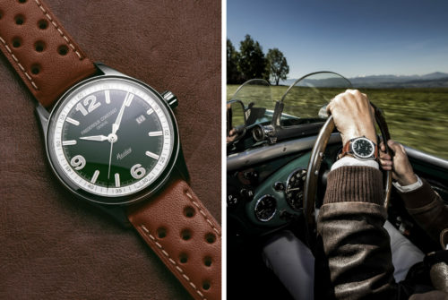 This Sporty Automatic Watch is Made for Vintage Car Fans