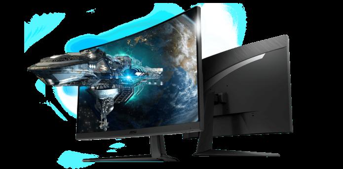 MSI Optix G27C5 – Revamped 165Hz Curved Optix Gaming Monitor