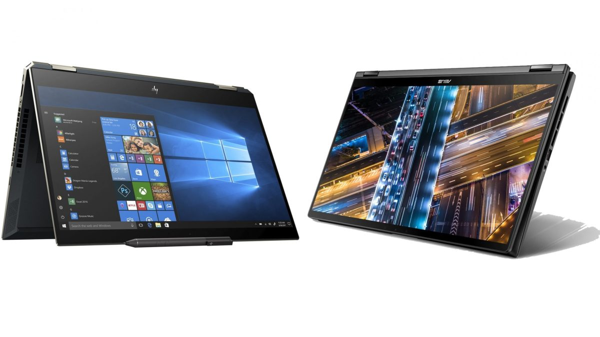 [In-depth Comparison] HP Spectre x360 15 (15-df0000) vs ASUS ZenBook Flip 15 UX563 – the battle of the transforming devices with 4K displays