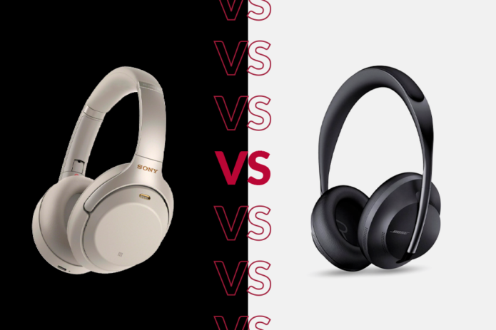 Bose NC 700 Headphones vs Sony WH-1000XM3: Which ANC headphones are for you?