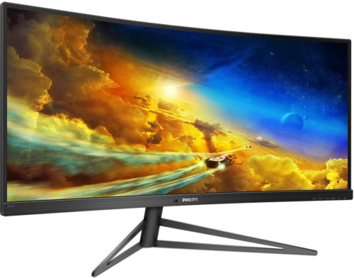 Philips Momentum 345M1CR – 144Hz Ultrawide Gaming Monitor for Next-Gen Consoles