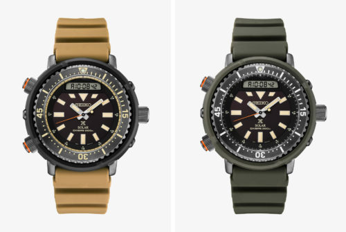 Seiko's Toughest Affordable Dive Watches Now Come in New Urban Colors