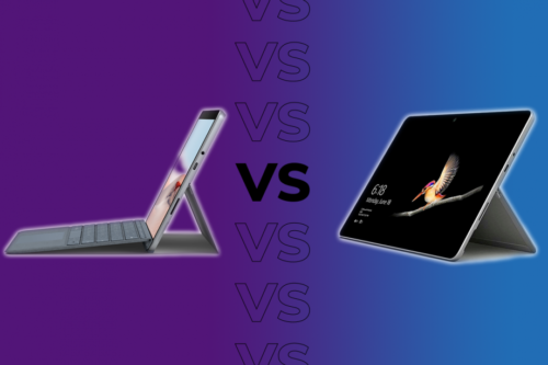 What's the difference between the Microsoft Surface Go and Surface Go 2?