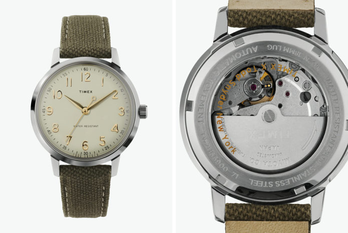 Timex & Todd Snyder Partner on an (Oddly Named) Affordable New Automatic Watch