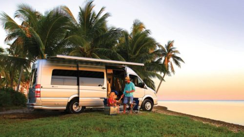 Airstream Tommy Bahama Relax Edition is a Mercedes Sprinter van for the island life