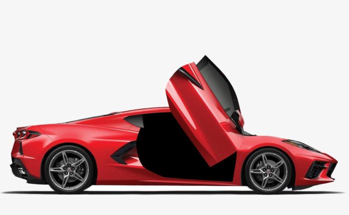 2020 Chevrolet Corvette C8 scissor door kit is worth checking out