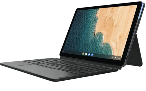 Lenovo's $280 Chromebook Duet 2-in-1 tablet hits shelves