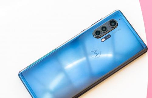 Motorola Edge+ in for review