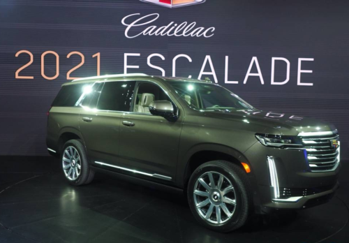 2021 Cadillac Escalade fuel economy ratings reveal a big thirsty boy