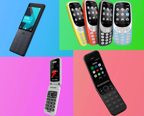 Cool Feature Phones You Can Buy Right Now