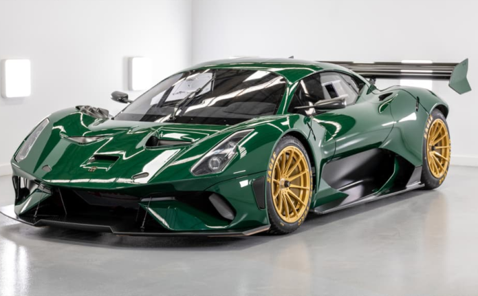 First Brabham BT62 Competition delivered