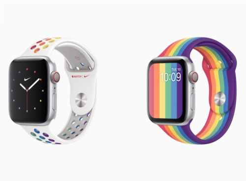 Apple celebrates virtual Pride with two new Apple Watch bands